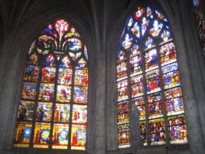 Les vitraux de l'église Sainte Madeleine